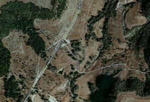 Map of Parking lot at doesking ranch